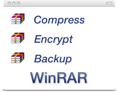 Compress, Encrypt, Backup - WinRAR v5.60