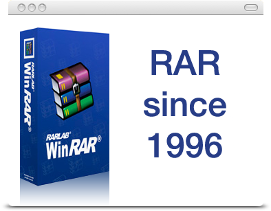 BuyRAR.com supporting RAR since 1996